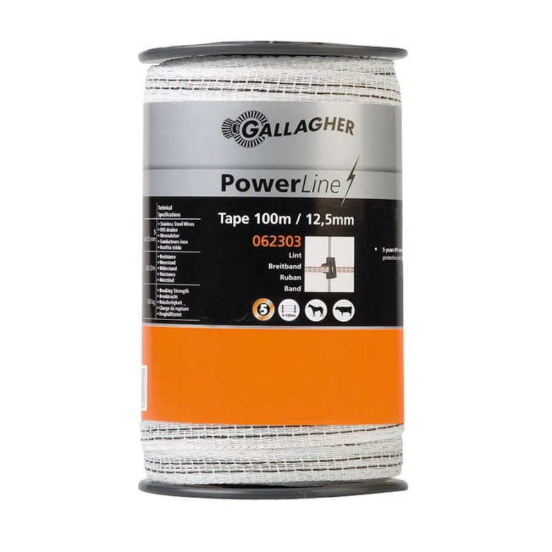 Gallagher Weidezaunband PowerLine 12,5 mm
