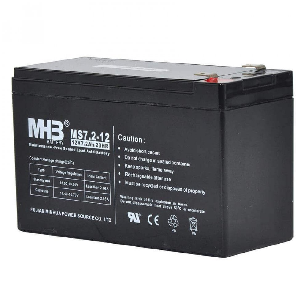 Gallagher Weidezaun Batterie 12V/7,2Ah für S100, S200 & S400