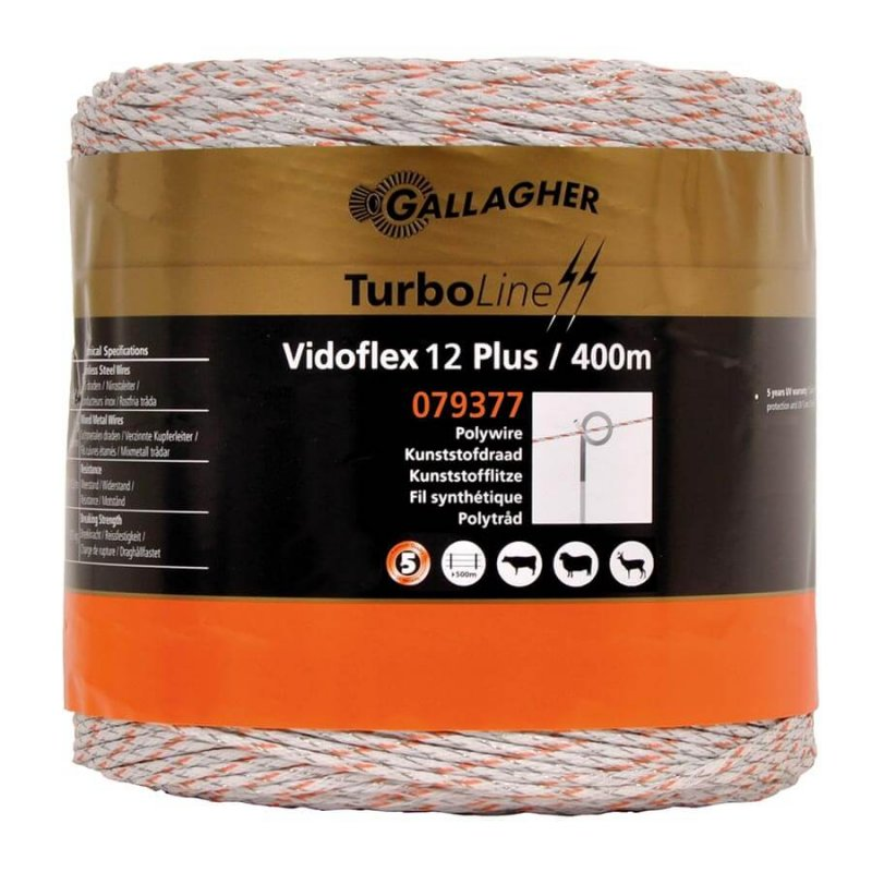 Gallagher Weidezaunlitze Vidoflex 12 TurboLine Plus
